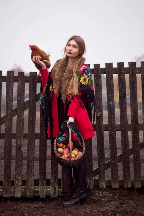 фотосессия в русском стиле в Германии